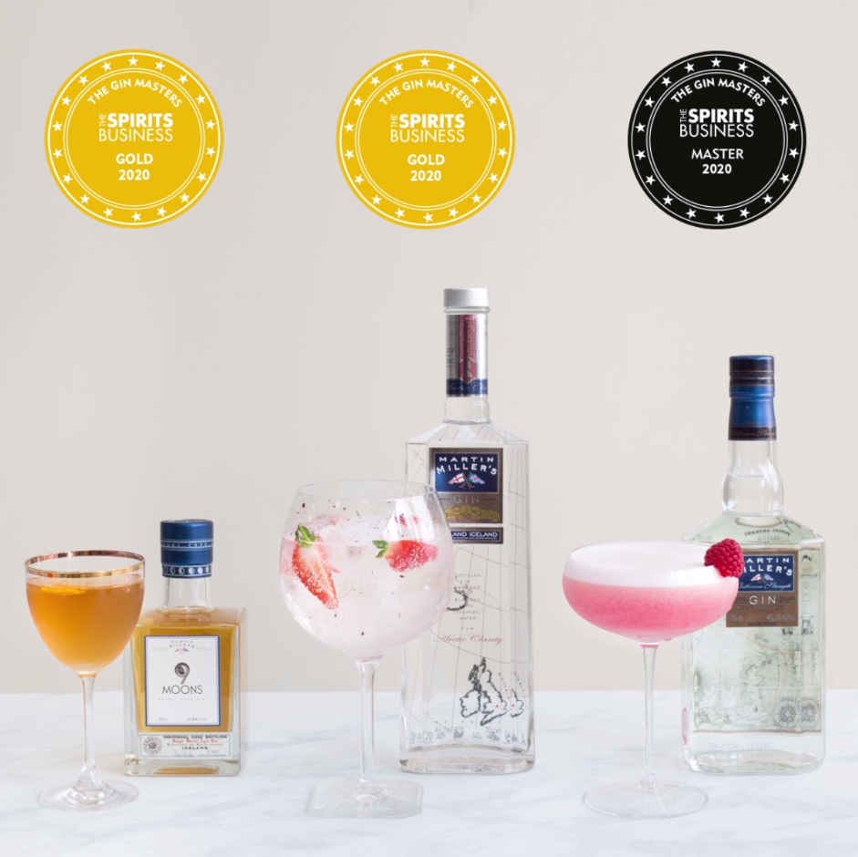 MARTIN MILLER'S GIN TAKES TOP ACCOLADES AT GIN MASTERS OF 2020